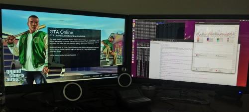 El juego GTA 5 con KVM passthrough