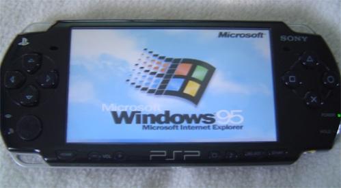 Windows 95 en PSP con BOCHS