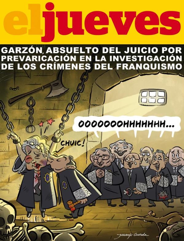 Garzón absuelto por investigar los crímenes del franquismo