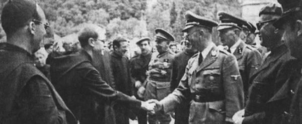 Himmler visita España para buscar el Santo Grial