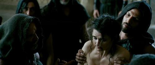 Rachel Weisz como Hipatia en la película Agora