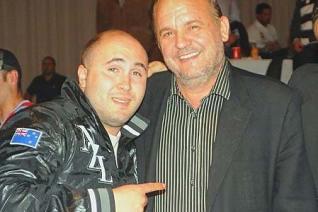 Paquirrín con el fascista Jose Luis Roberto