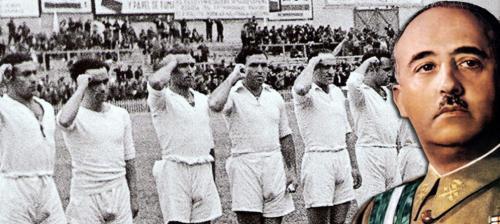 El Real Madrid consiguió muchos títulos durante la dictadura fascista