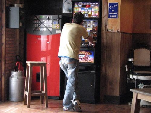 Tragaperras del bar