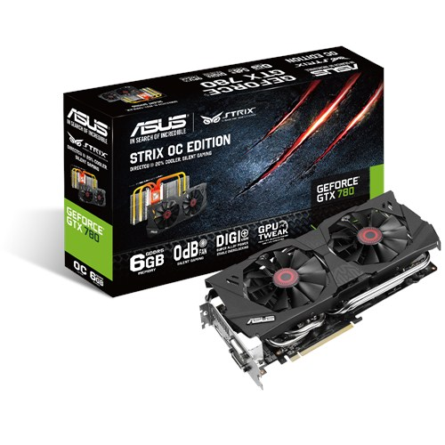 Asus GeForce Strix GTX 780 OC 6GB GDDR5