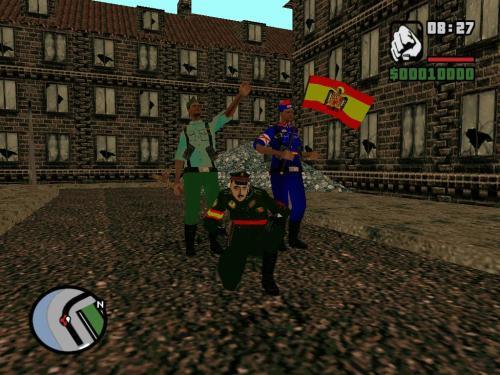 Uno de los juegos GTA modificado con texturas alternativas