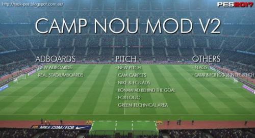 PES 2017 - Camp Nou mod v2