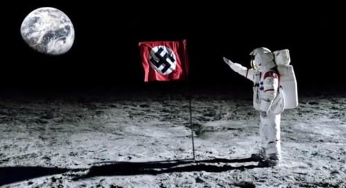 Los nazis son los que pisan la Luna en Wolfstein The New Order