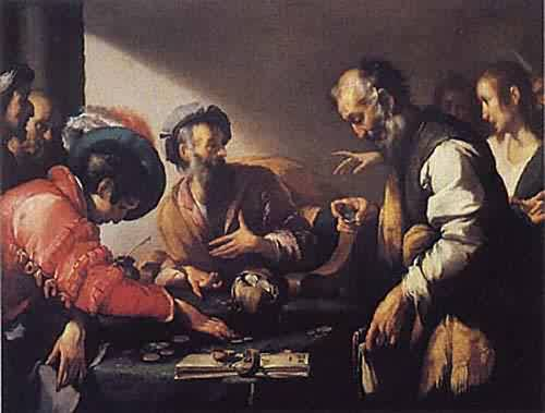 Bernardo Strozzi - The Calling of Saint Matthew