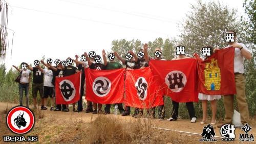 Nazis gallegos del Movimiento Resistencia Aria