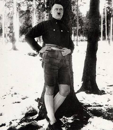 Foto descartada de Hitler