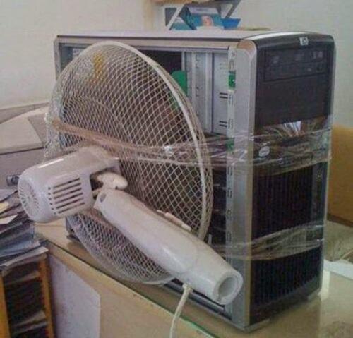 Chapuza en ordenador