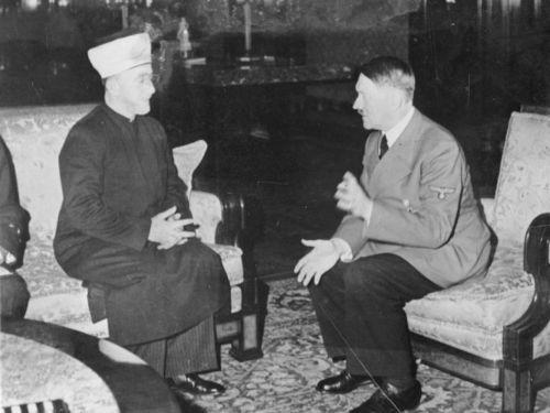 Mufti Haj Amin al-Husseini con Hitler