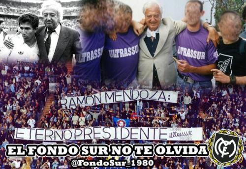 Homenaje de los neonazis a Ramón Mendoza