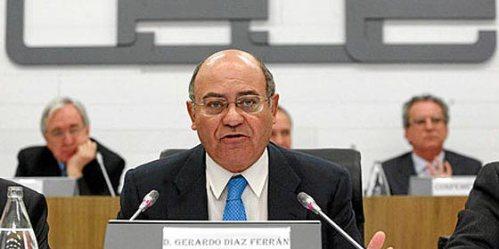 El corrupto ex-presidente de la patronal española de empresarios CEOE