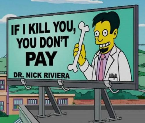 Doctor mexicano en Los Simpson