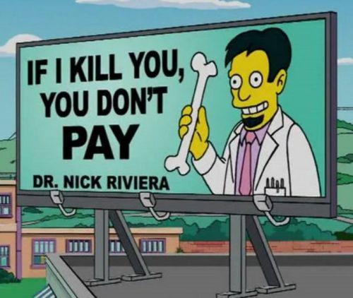 Doctor mexicano en Los Simpson