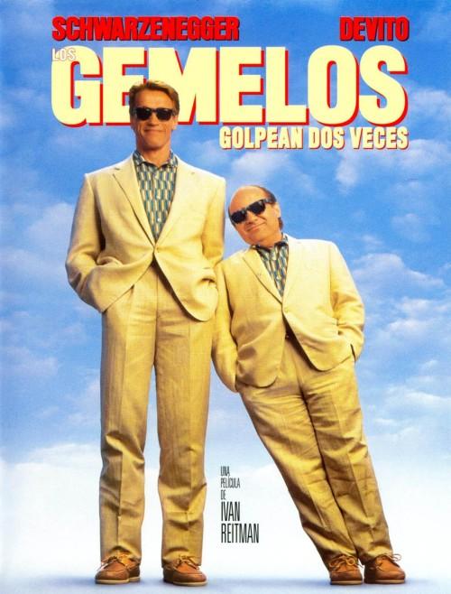 """Arnold Schwarzenegger en la comedia """"Los gemelos golpean dos veces"""""""