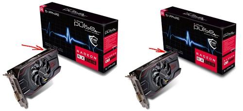 Versiones de la AMD RX 560 de 4GB de 45 W y 80 W