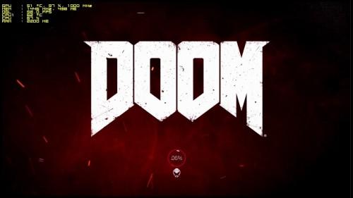 Pantalla de carga de Doom 4