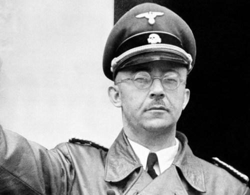 Heinrich Himmler, dirigió las SS de los nazis