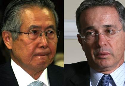 Fujimori y Uribe