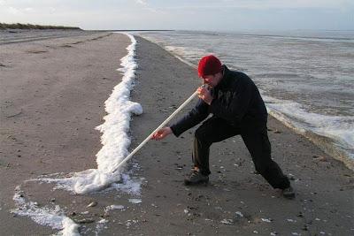 Esnifando espuma del mar