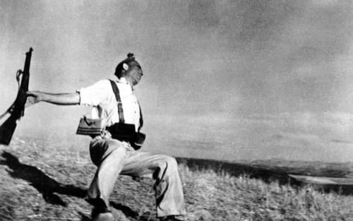 Foto 'Muerte de un miliciano' de Robert Capa