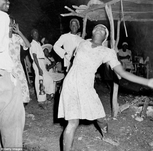Vudú, éxtasis en Haití
