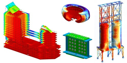 Análisis de estructuras en un programa CAD