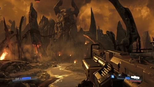 Doom, escena en el infierno