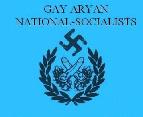Logotipo de un grupo de nazis gays